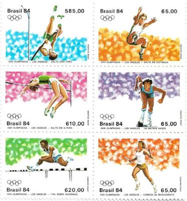 Série XXIII Olimpíadas - Los Angeles 1984