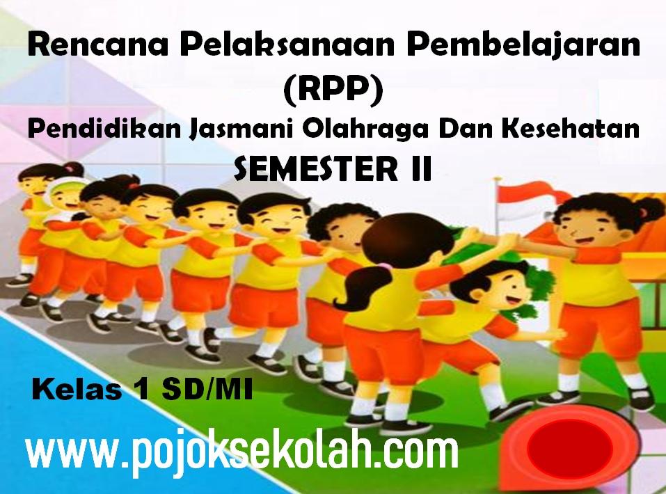 Contoh RPP 1 lembar PJOK