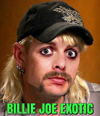Joe Exotic and Billy Joe Armstrong from Green Day