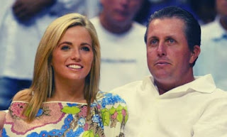 Phil Mickelson And His Wife Amy