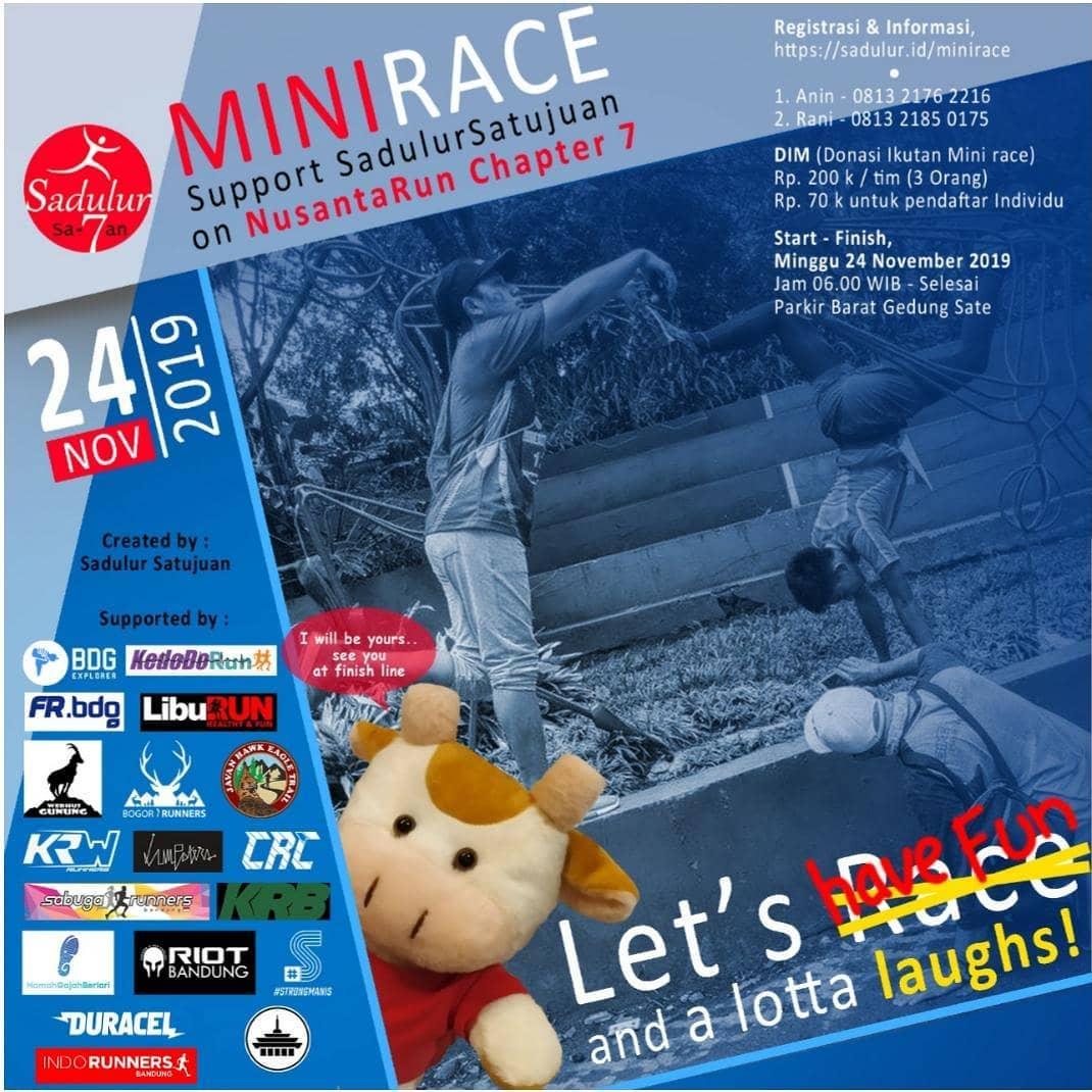 Sadulur Satujuan - Mini Race • 2019
