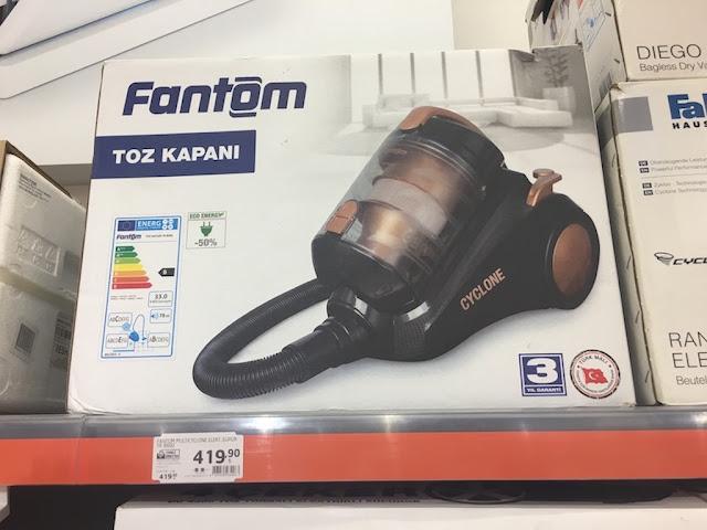 fantom toz kapanı tr 8600 torbasız multi cyclone elektrikli süpürge kullananlar 14