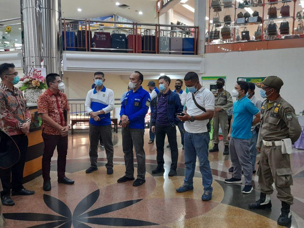 Disperindag Kota Batam Mengawasi Aktifitas Pusat perbelanjaan Agar Menerapkan Protkes