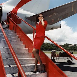 Russian economist gets the most beautiful stewardess title