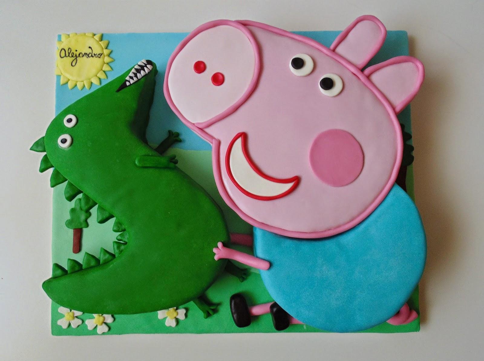Horno De Dinosauriopepa George ObsesiónPastel El Pig Y 08wXknOP
