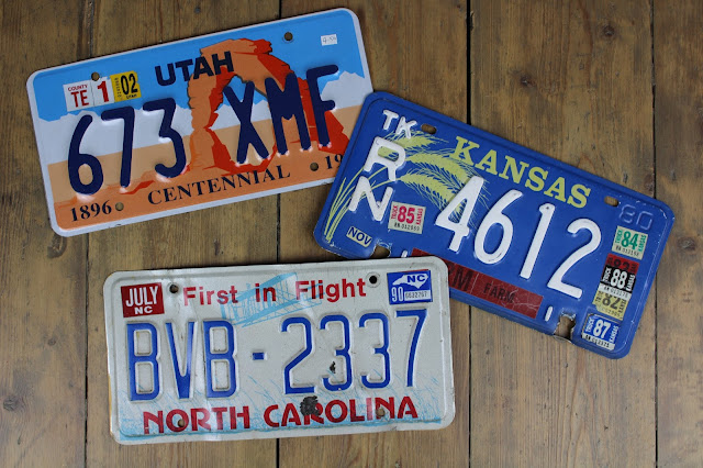 US number plates