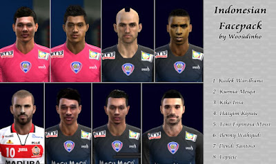 PES 2013 Indonesian Face Pack Vol. 1 By Wooudiñho Lüiz