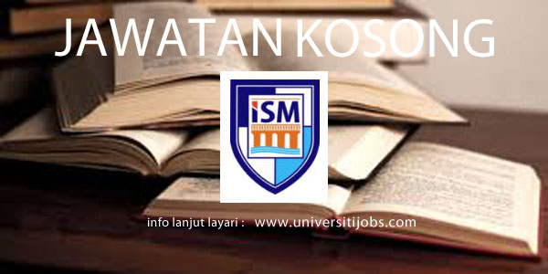 Jawatan Kosong Institute of Science and Management 2016