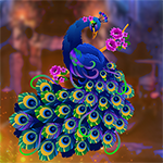 Games4King - G4K Cautious Attractive Peacock Escape Game