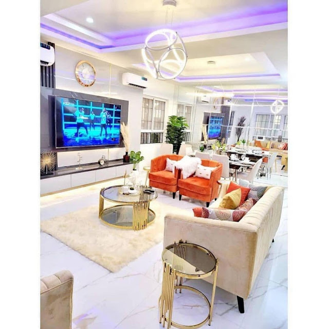 Check out the Interior part of Mercy Eke house which got Nigerians talking about