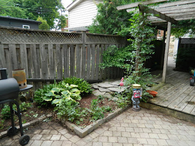 Playter Estates Toronto backyard clean up after by Paul Jung Gardening Services