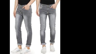 OKILR PIJK VINTAGE COTTON DENIM JEANS, Best Jeans For Men