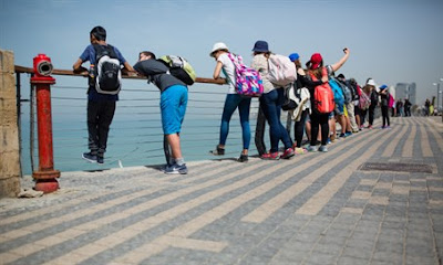 """Estudiantes jordanos descubrieron la """"verdadera Israel"""" durante una visita al Estado judío"""