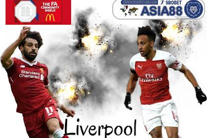 Trek Rekor Pertemuan Liverpool vs Arsenal