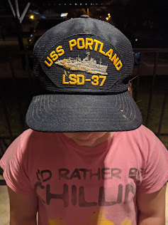 Child wearing a baseball cap