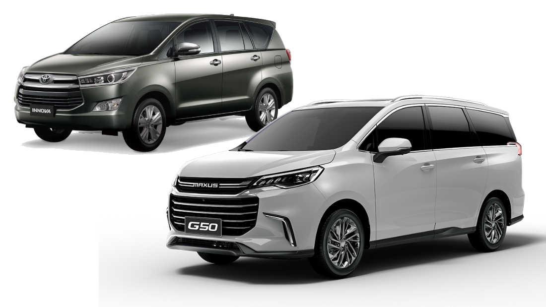 2021 Maxus G50 vs 2020 Toyota Innova   CarGuide.PH ...