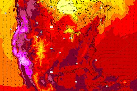 Ασύλληπτο ρεκόρ θερμοκρασίας στον Καναδά