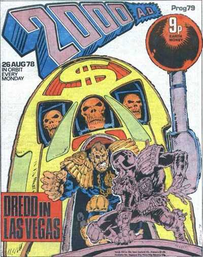 2000 AD Prog 79, Judge Dredd in Las Vegas