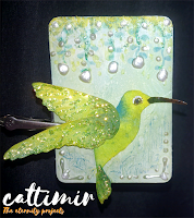 52 cafe cards hummingbird