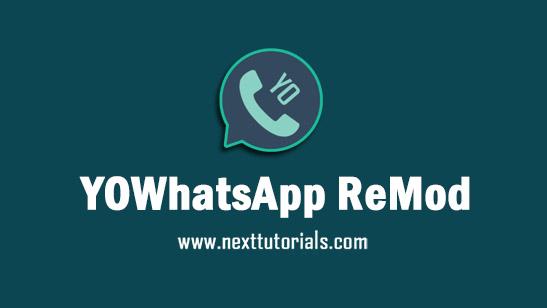 YOWhatsApp ReMod v8.95 Apk Mod Latest Version Android,Install Aplikasi YOWA Update Terbaru 2021,tema yowhatsapp keren,download whatsapp mod anti ban terbaik 2021