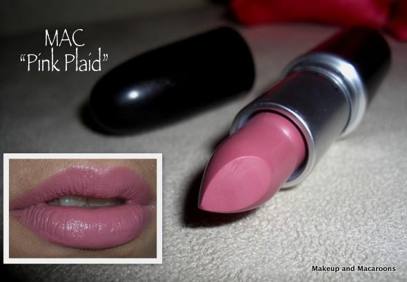 mac pink plaid - photo #48