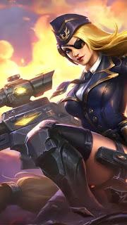 Lesley Black Rose Admiral Heroes Marksman Assassin of Skins V2