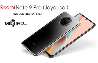Redmi Note 9 Pro (JoyeUse) Original ENG QCN FILE   Download For Free