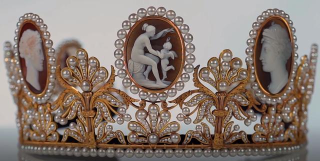 cameo tiara empress josephine france