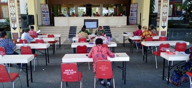 Benhur Tomi Mano Ungkap Gugus Tugas Berubah Menjadi Satgas Covid-19 Kota Jayapura