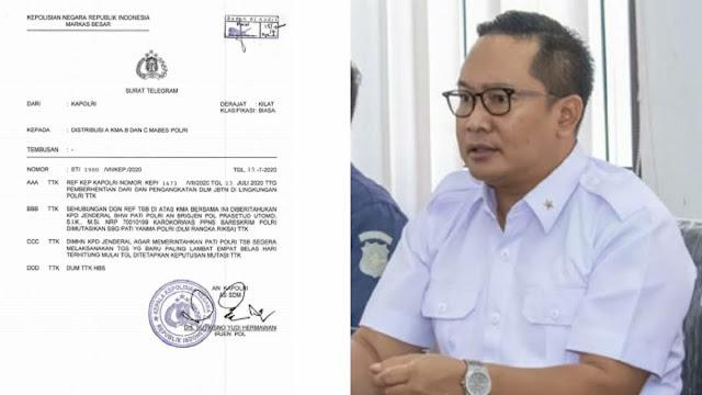 Bikin Surat Jalan untuk Djoko Tjandra, Brigjen Prasetijo Utomo Dicopot!