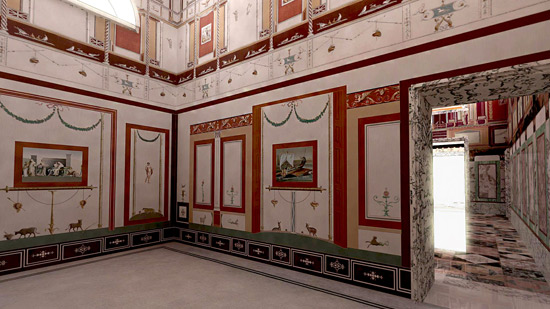 OmoGirando la Villa di Livia di Prima Porta e l'Arco di Malborghetto
