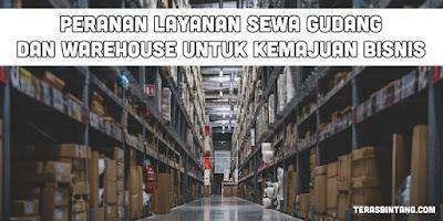 Manajemen logistik dengan warehouse