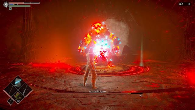Acechador ígneo Magia Debilides Análisis de Demon's Souls