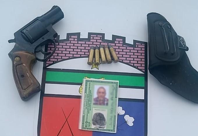 Homem é preso em Grossos por violência doméstica e posse ilegal de arma de fogo
