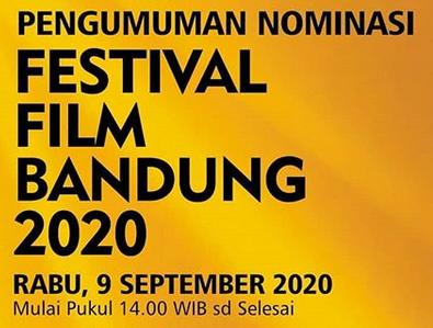 Daftar Lengkap Nominasi Festival Film Bandung Ke-33 Tahun 2020