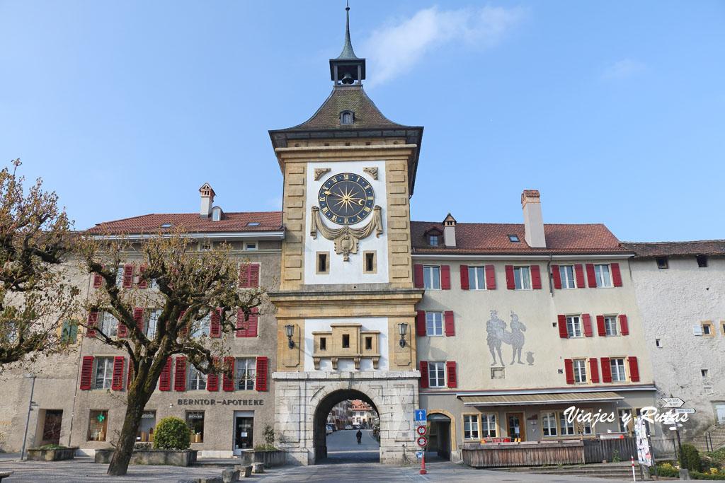 Puerta de Berna. Murten