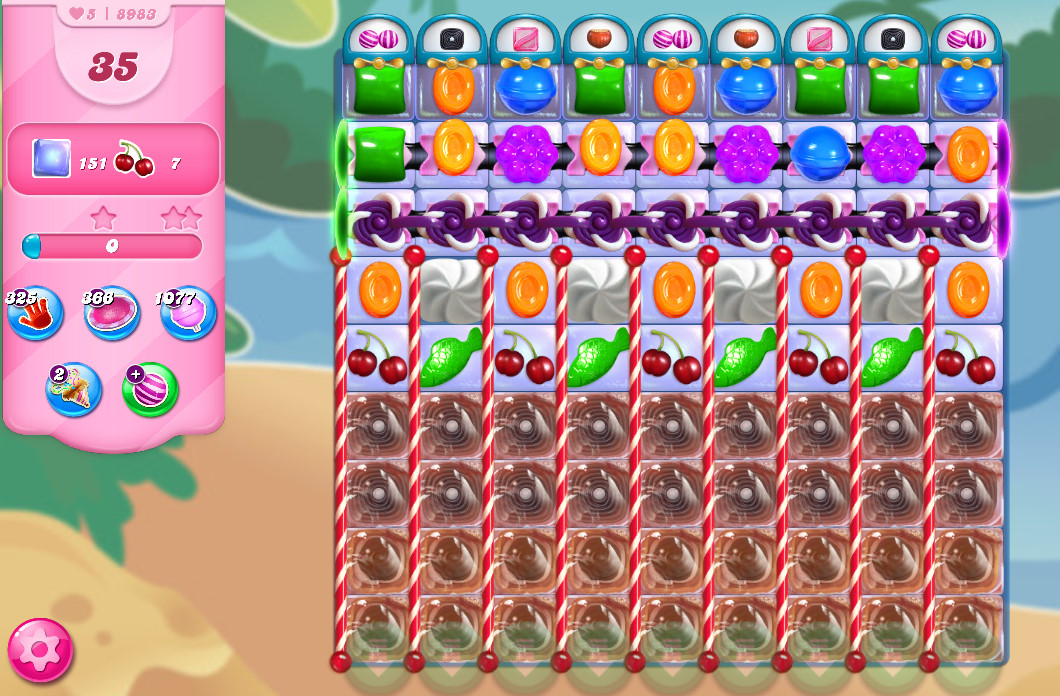 Candy Crush Saga level 8983