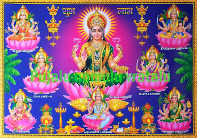 Ashta Lakshmi Stotram in English,lakshmi images