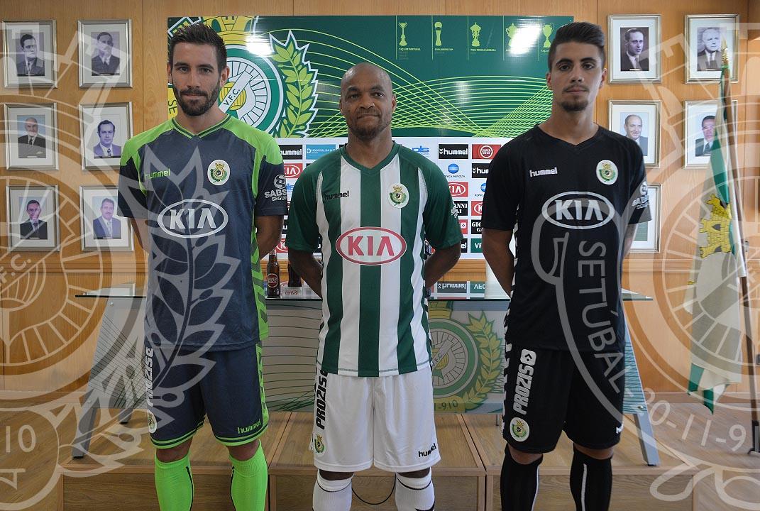 2bf5b63cc0 Vitória Futebol Clube »»» Equipamento principal oficialmente apresentado