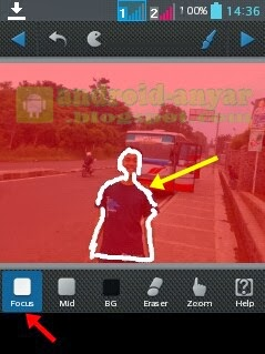 Memotret Foto Menjadi Fokus dengan Android