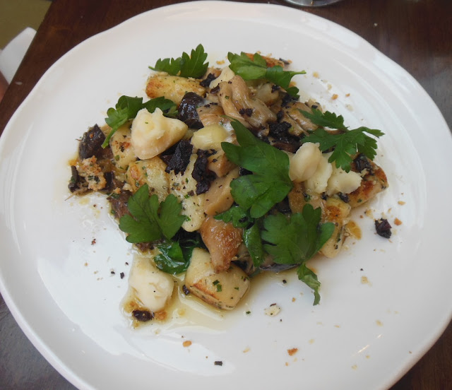 Gallery Restaurant, Ballarat, potato gnocchi with local mushrooms