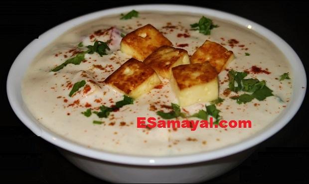 கார்ன், பீஸ், பனீர் ராய்த்தா செய்வது | Corn, Bees, Paneer Raita Recipe !