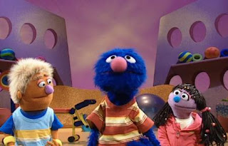 Grover says there are other types of exercise, such as dancing and swimming. Sesame Street Happy Healthy Monsters