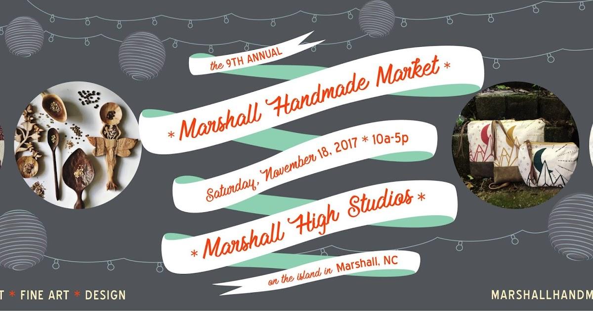 Marshall Handmade Market on Saturday!