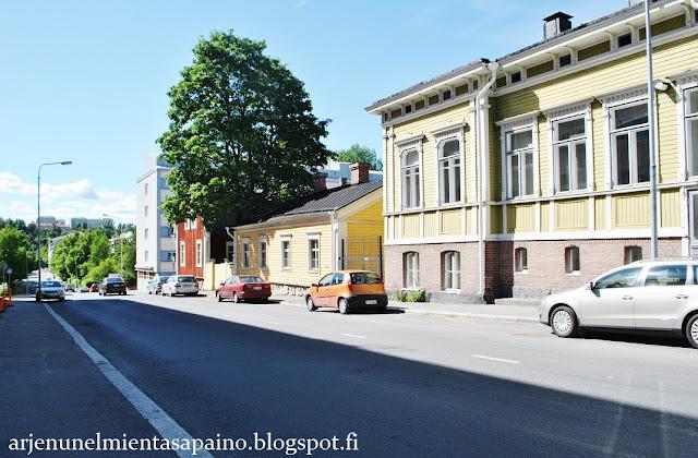Kuopio, asunto, opiskelija, retkeily, harrastus
