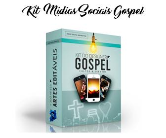 Kit mídias sociais gospel
