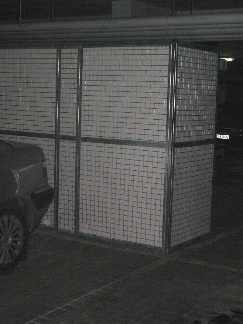 Szafa garazowa zabudowa mijsca parkingowego Warszawa garazowy