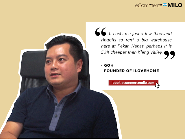Goh, Founder of ILOVEHOME