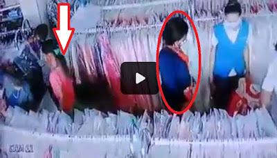 vidio copet di toko dunia mode kupang