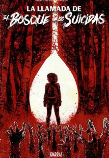 Portada  'La Llamada de El Bosque de los Suicidas', de Desiree Bresend y Rubén Gil